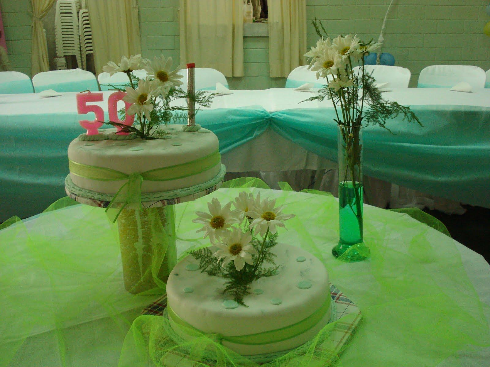 Decoraciones de eventos torta de 50 a os - Decoracion 50 cumpleanos ...