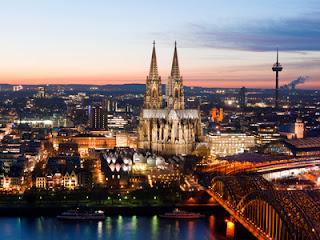 Köln, Kölner Dom, Köln am Abend, romantisches Köln