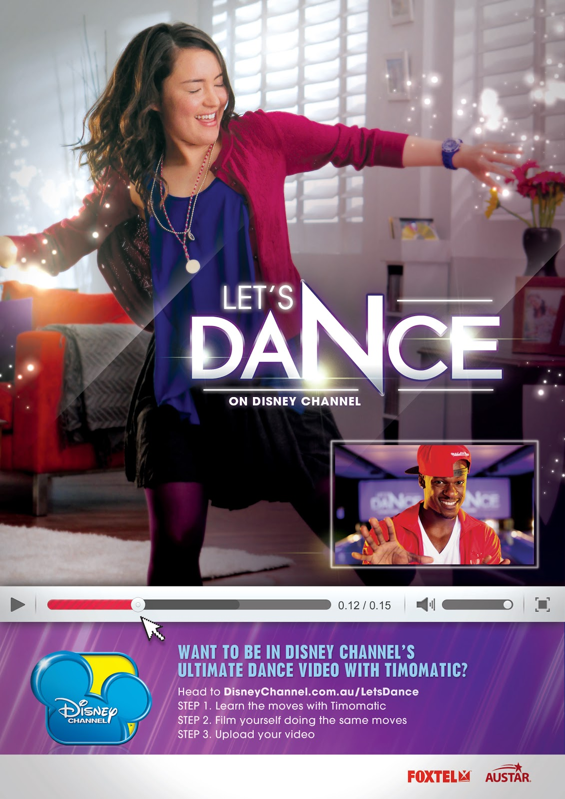 Film news let 39 s dance with disney for 1234 lets on the dance floor