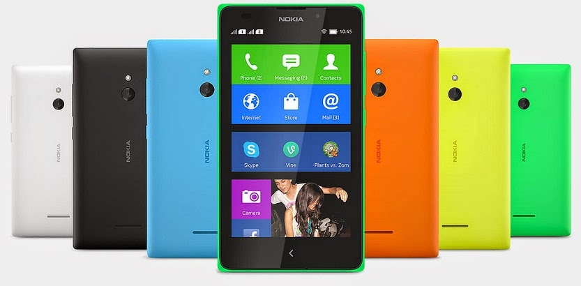 Nokia XL Smartphone Android Murah Harga Rp 1 Jutaan