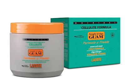 """GUAM Fanghi d'Alga Seaweed Mud Cold Formula Антицеллюлитная маска из морских водорослей """"холодная формула"""""""