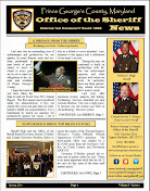 Sheriff's Spring Newsletter- April 2014