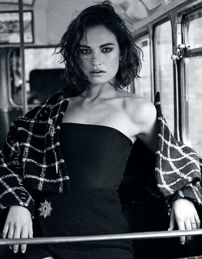 Lily James The Edit magazine September 2015 photo shoot