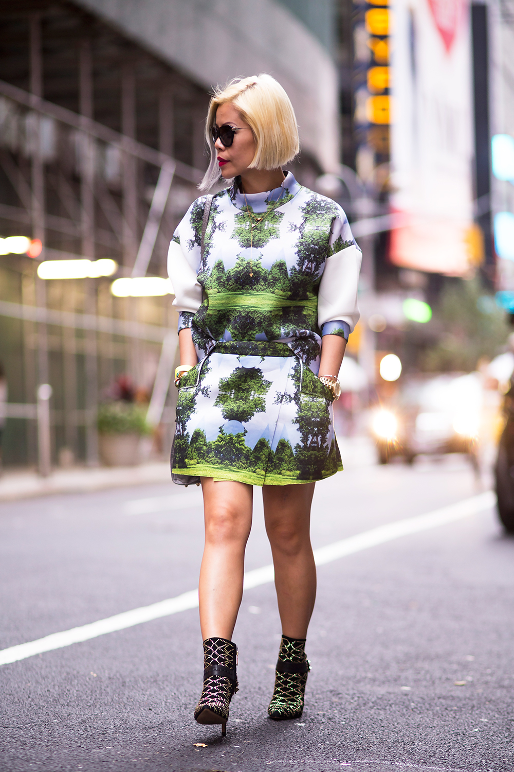 CrystalPhuong- New York Fashion Week 2015- Streetstyle
