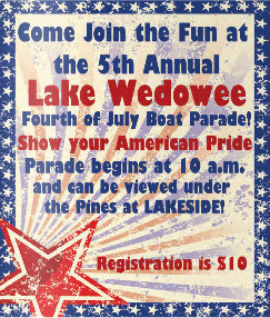 Lake Wedowee 4th of July Boat Parade @ Lakeside Marina | Wedowee | Alabama | United States