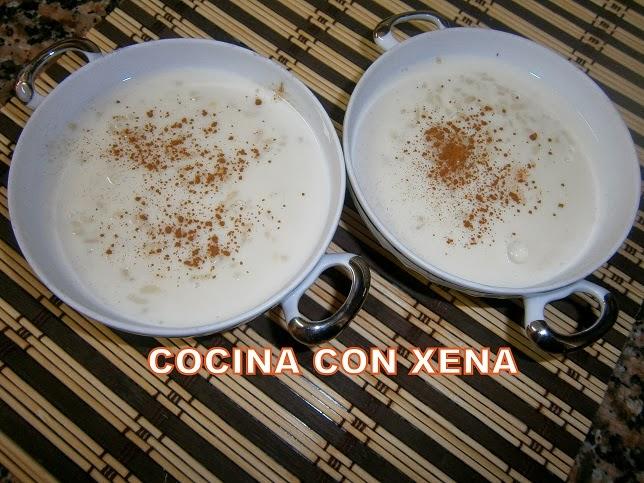 Cocina con xena arroz con leche en gm d e y f for Cocina con xena olla gm d