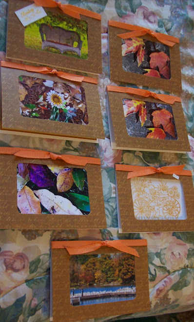 Fall cards!