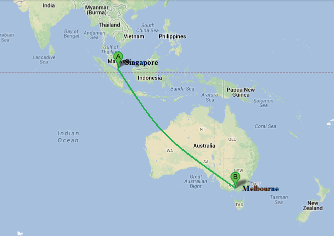 Flights From Singapore To Melbourne