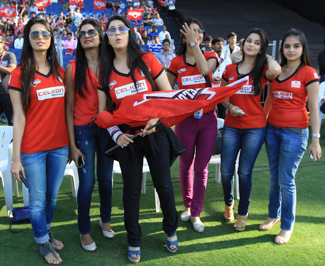Charmi Kaur at CCL3 match