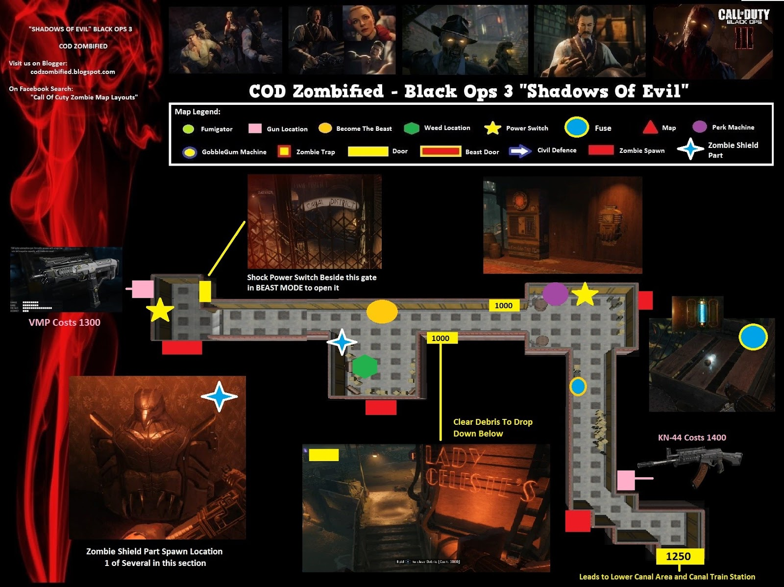 Fuse Box In Black Ops Zombies : Fuse locations shadows of evil man elsavadorla