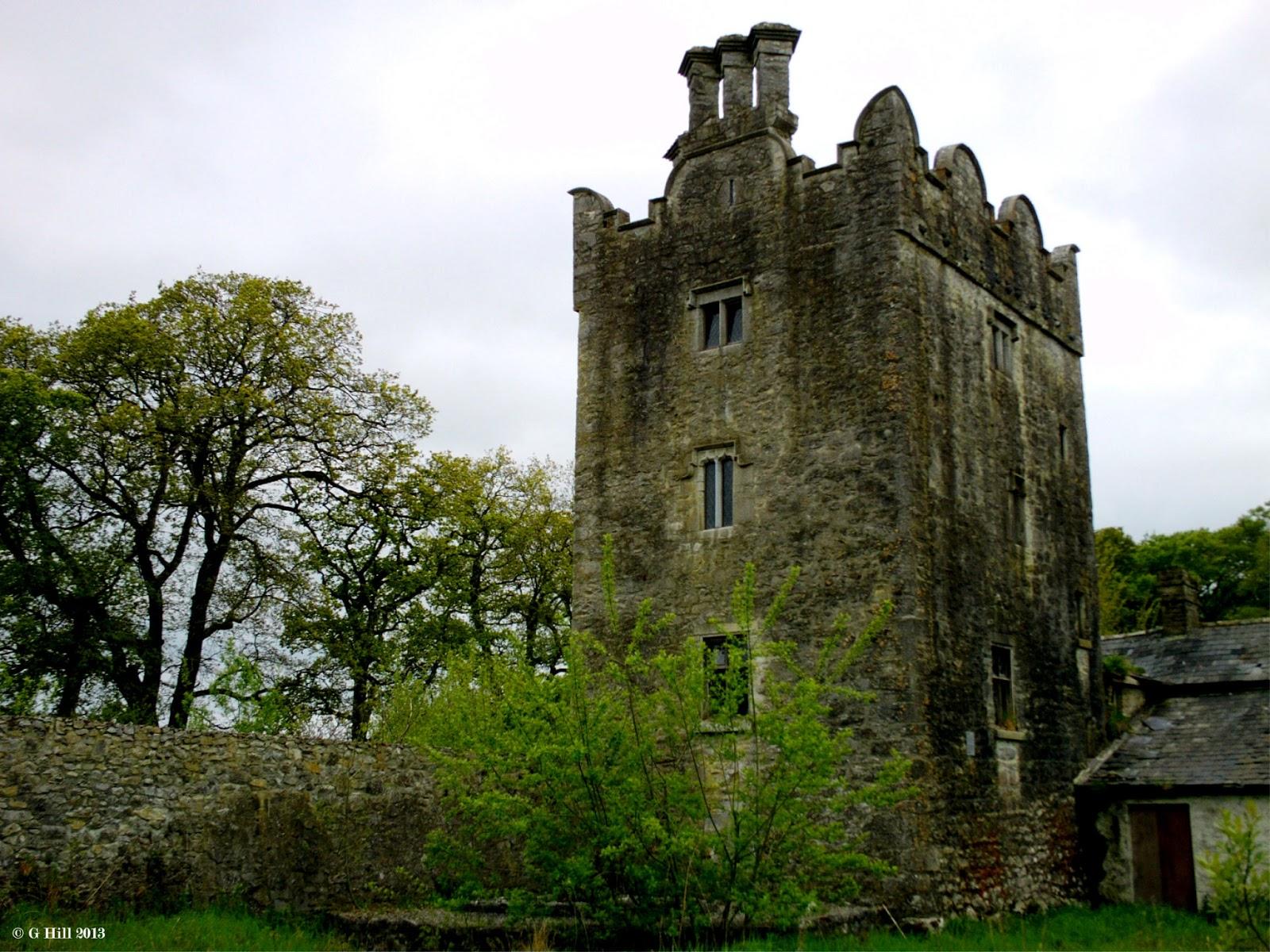 Ireland In Ruins Grange Castle Co Kildare