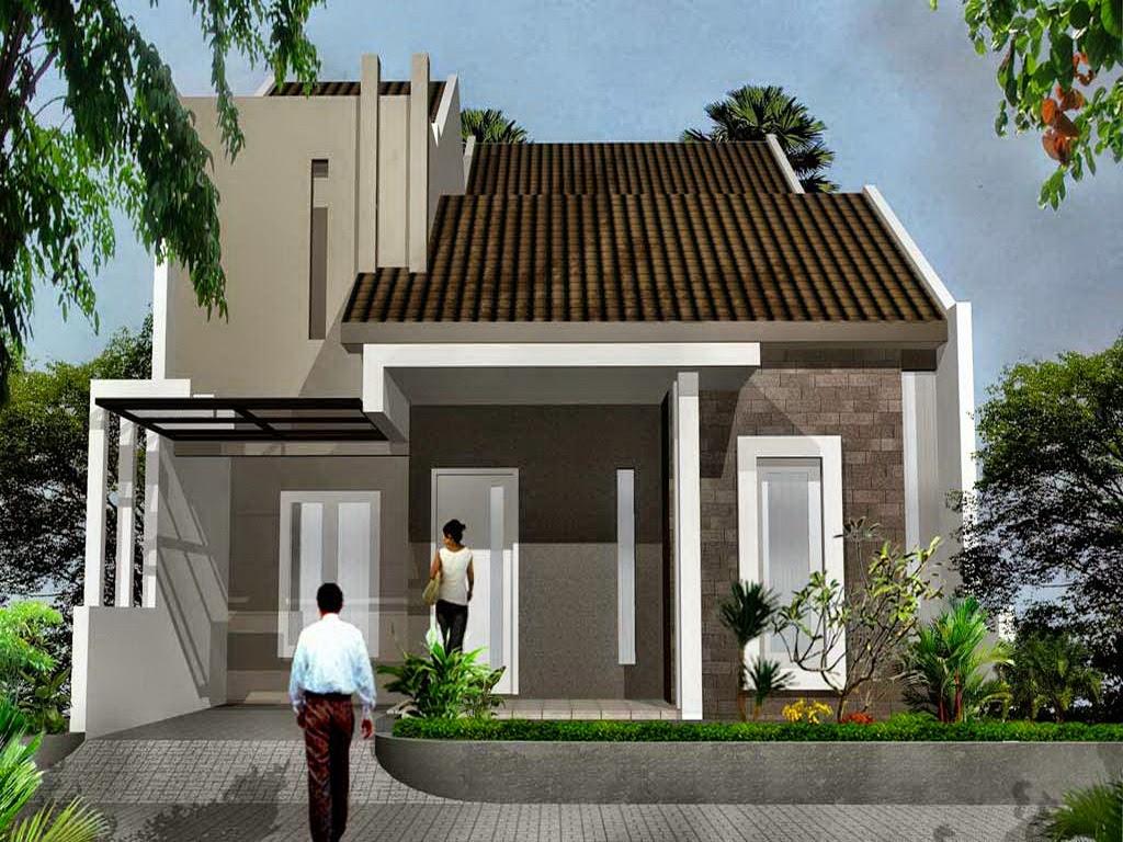 konsep desain rumah minimalis type 45