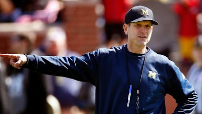 Michigan reports four secondary violations four secondary violations in Jim Harbaugh's first four months as head coach.