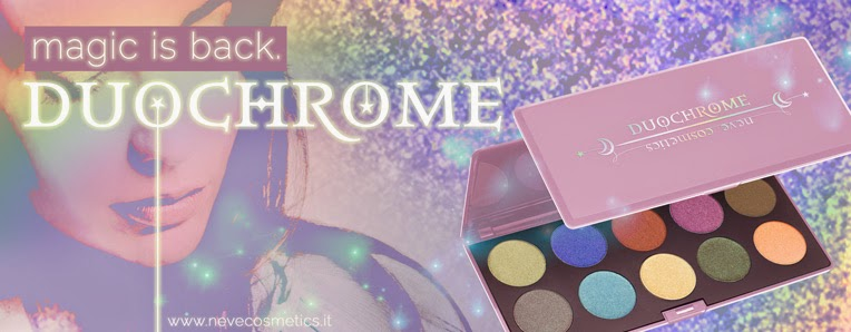 NEVE COSMETICS - Duochrome Palette - Anticipazioni, Neve Cosmetics, Vegan, Cruelty Free, Ombretto, palette