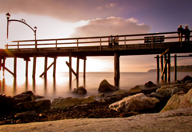 Glowing Pier - Landscape Photography Prints