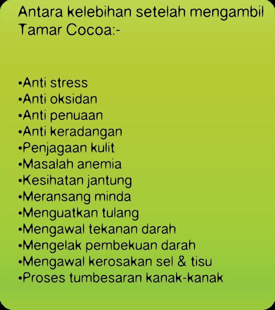 Mari Minum Tamar Cocoa Sedap