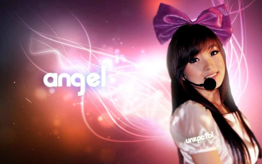 Angel Chibi Wallpaper