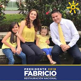 COSTA RICA! ESTE ES TU VOTO! FABRICIO ALVARADO PARA PRESIDENTE
