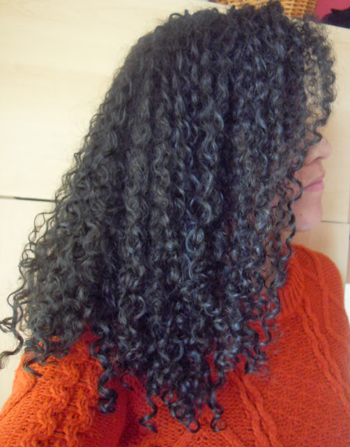 3b Black Curly Hair with Beautiful Textures Curl Defining Pudding