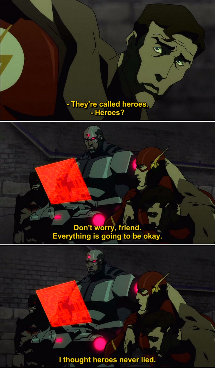 The Flashpoint Paradox Quotes