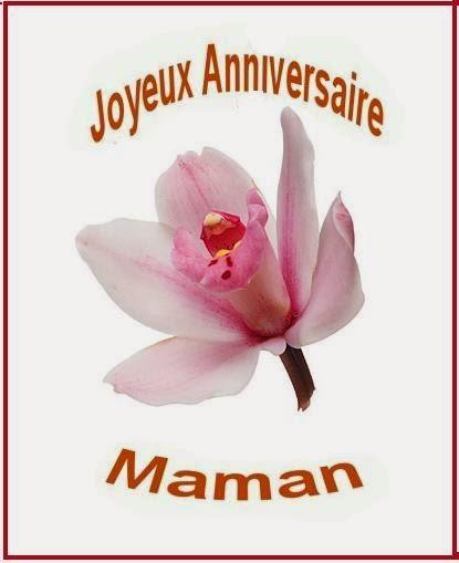 Carte joyeux anniversaire maman texte anniversaire sms - Carte bon anniversaire maman ...