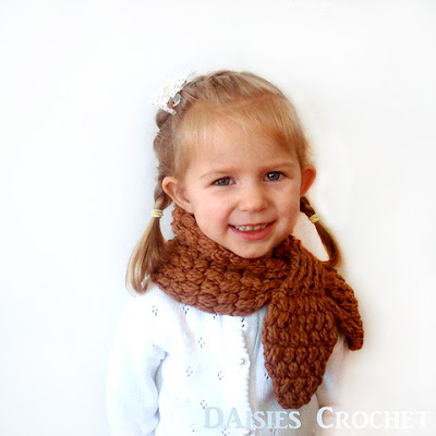 crochet girl hat scarf pdf