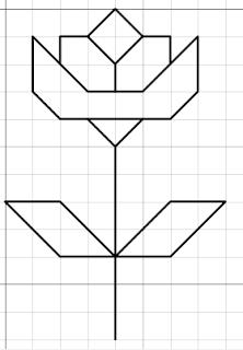 flower free blackwork pattern
