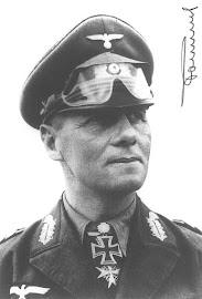 General ERWIN ROMMEL (15/11/1891 – 14/10/1944). Segunda Guerra Mundial.