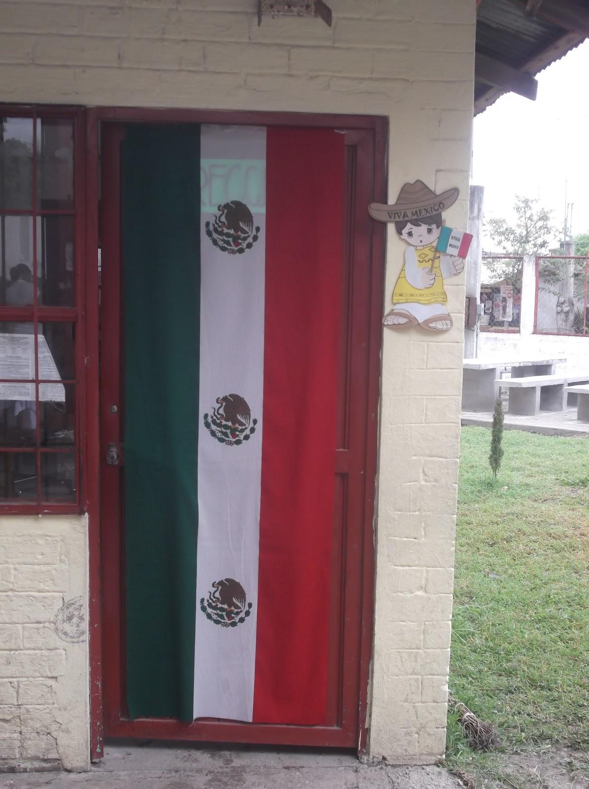 Escuela primaria profr lorenzo vel zquez anaya for Puertas decoradas 16 de septiembre