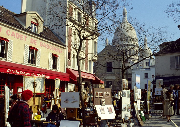 paris :  place du tertre