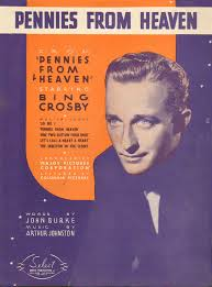 a bing song pennies from heaven