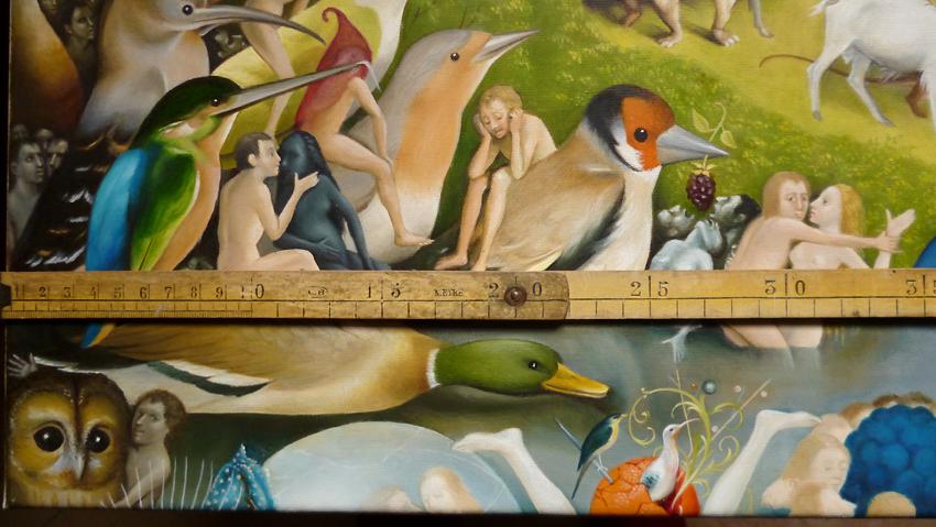Le blog d 39 lizabeth d tail du jardin des d lices de for Jardin des delices j bosch