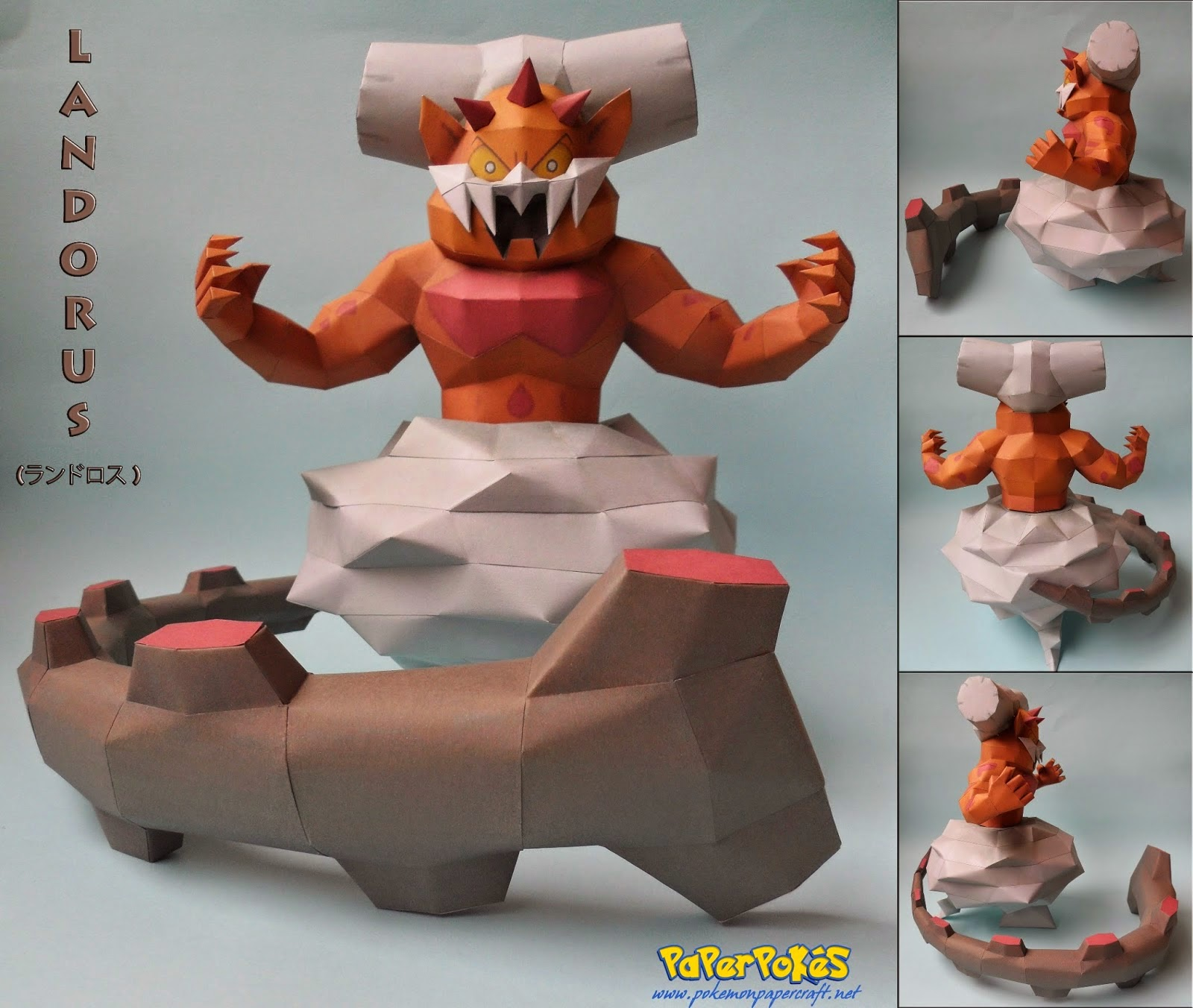 Landorus is a dual type ground flying legendary pok 233 mon that closely