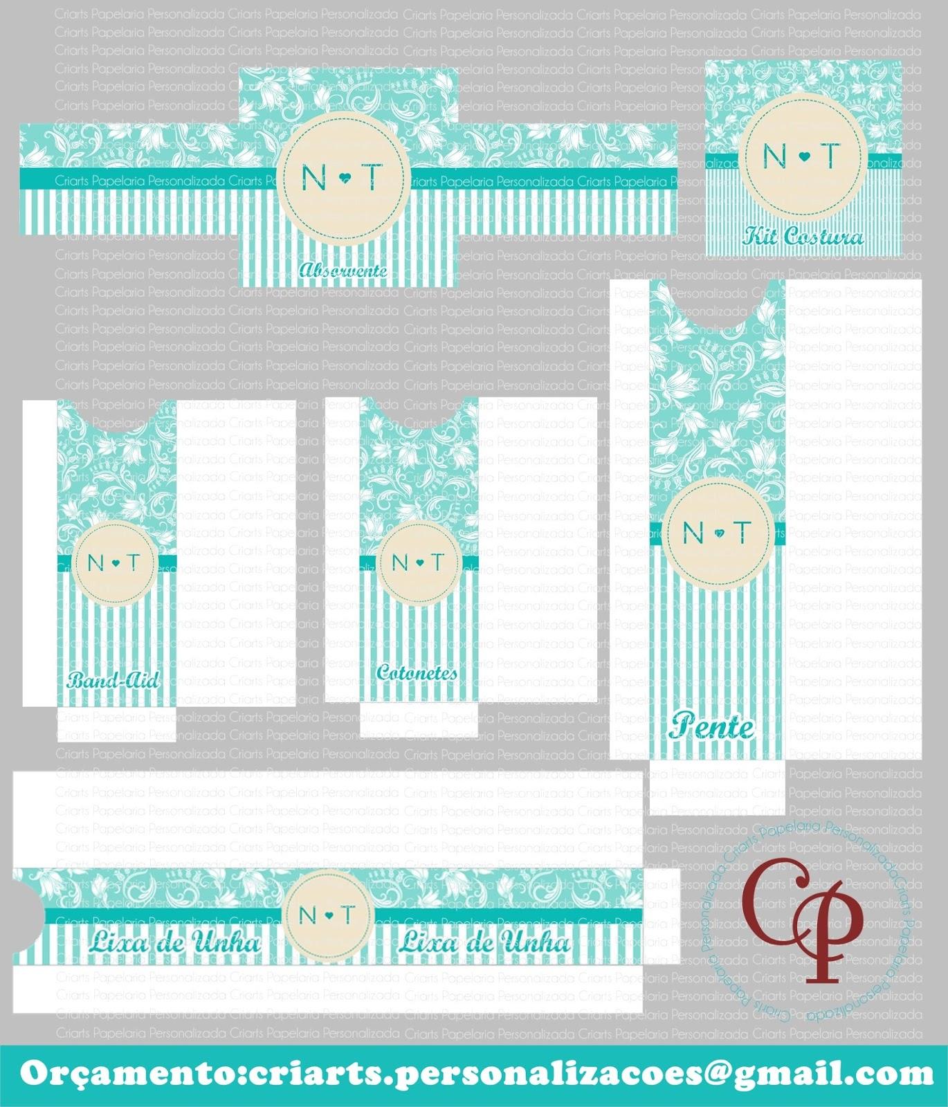 Kit Banheiro Tifany : Criarts personaliza?es kit banheiro azul tiffany e branco