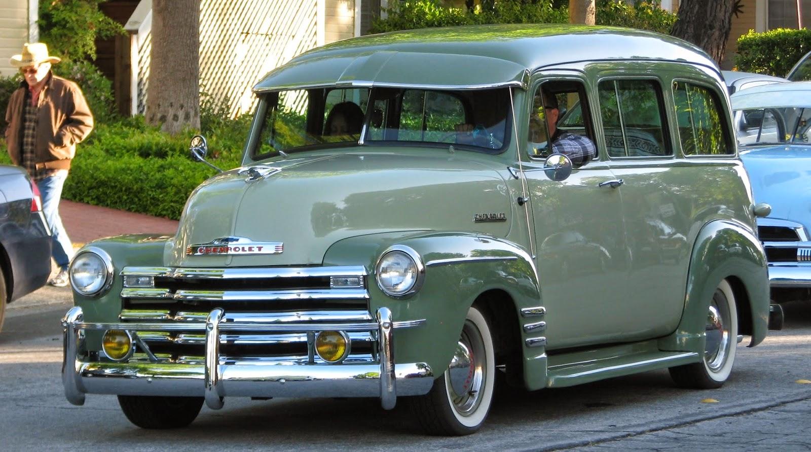 Nostalgia on Wheels: 1952 Chevy Suburban