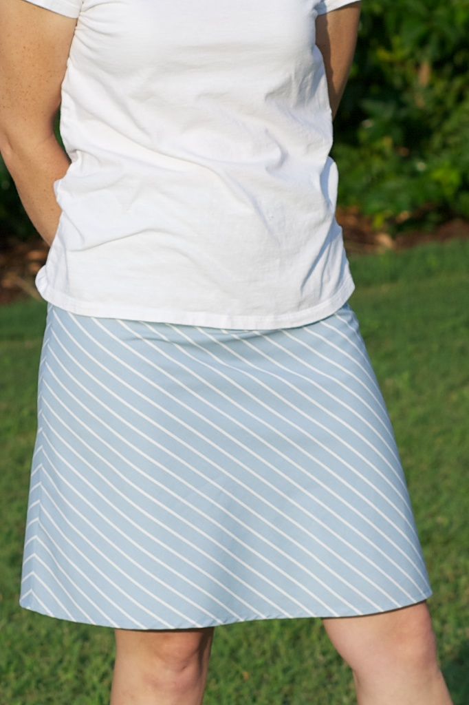sew spoiled a line skirt week