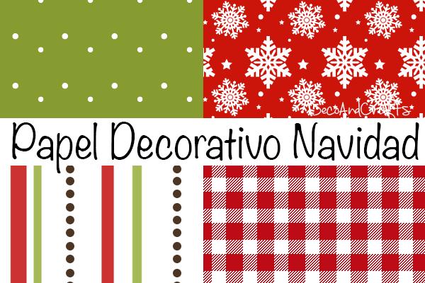 Papel decorativo gratis para navidad for Fotos de papel decorativo
