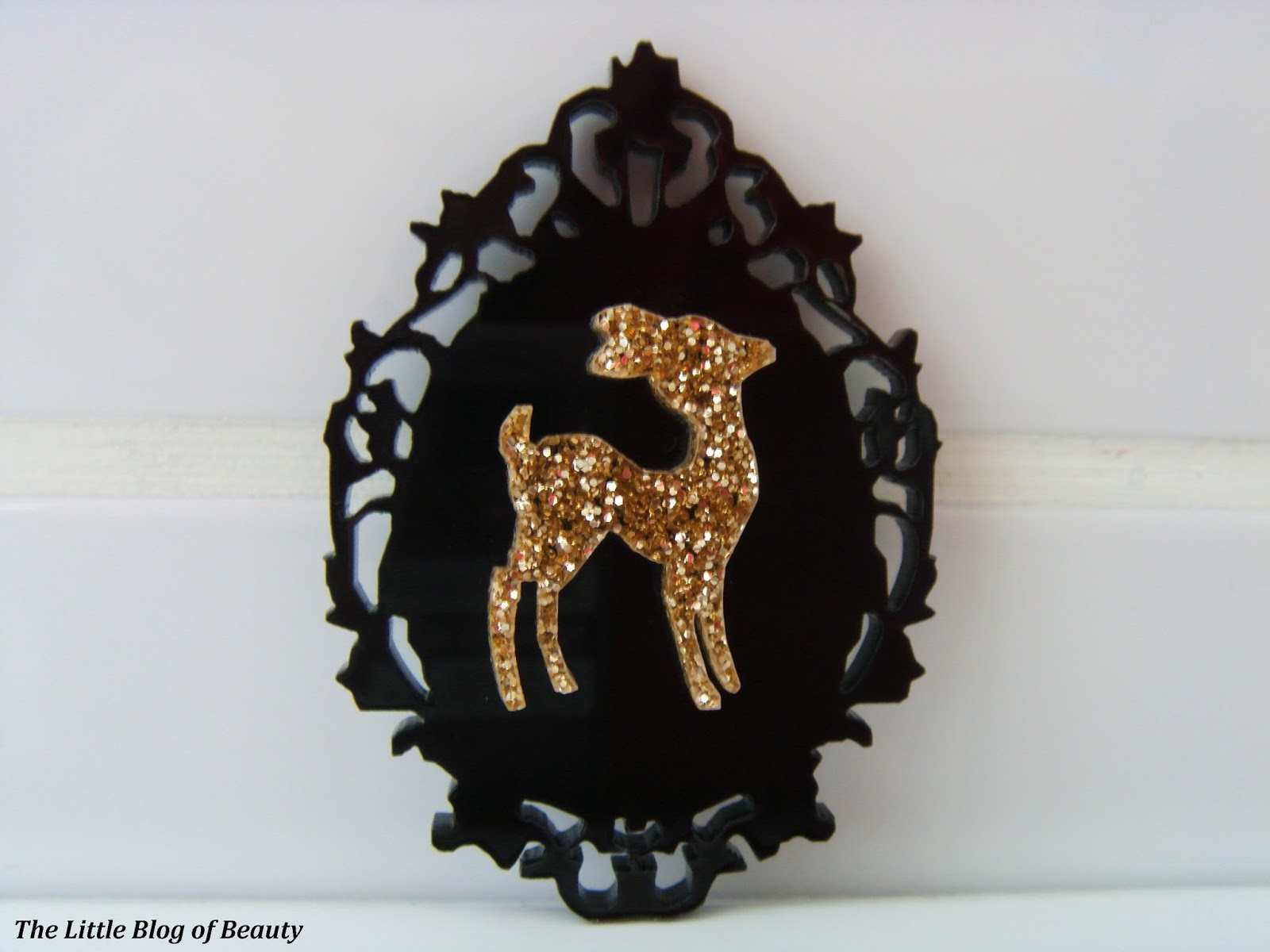 gold dust tone brooch diamond products deer vintage candy
