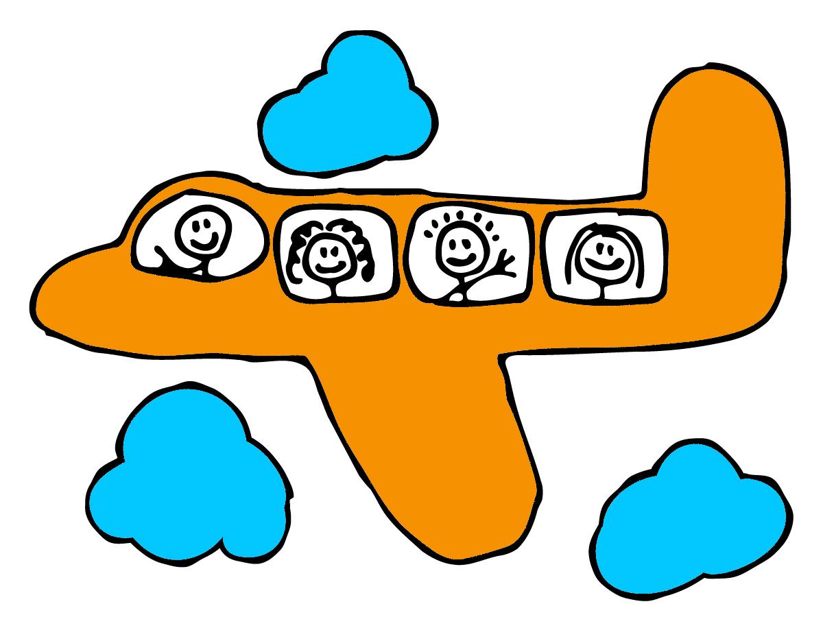 desenho de aviao infantil colorido www