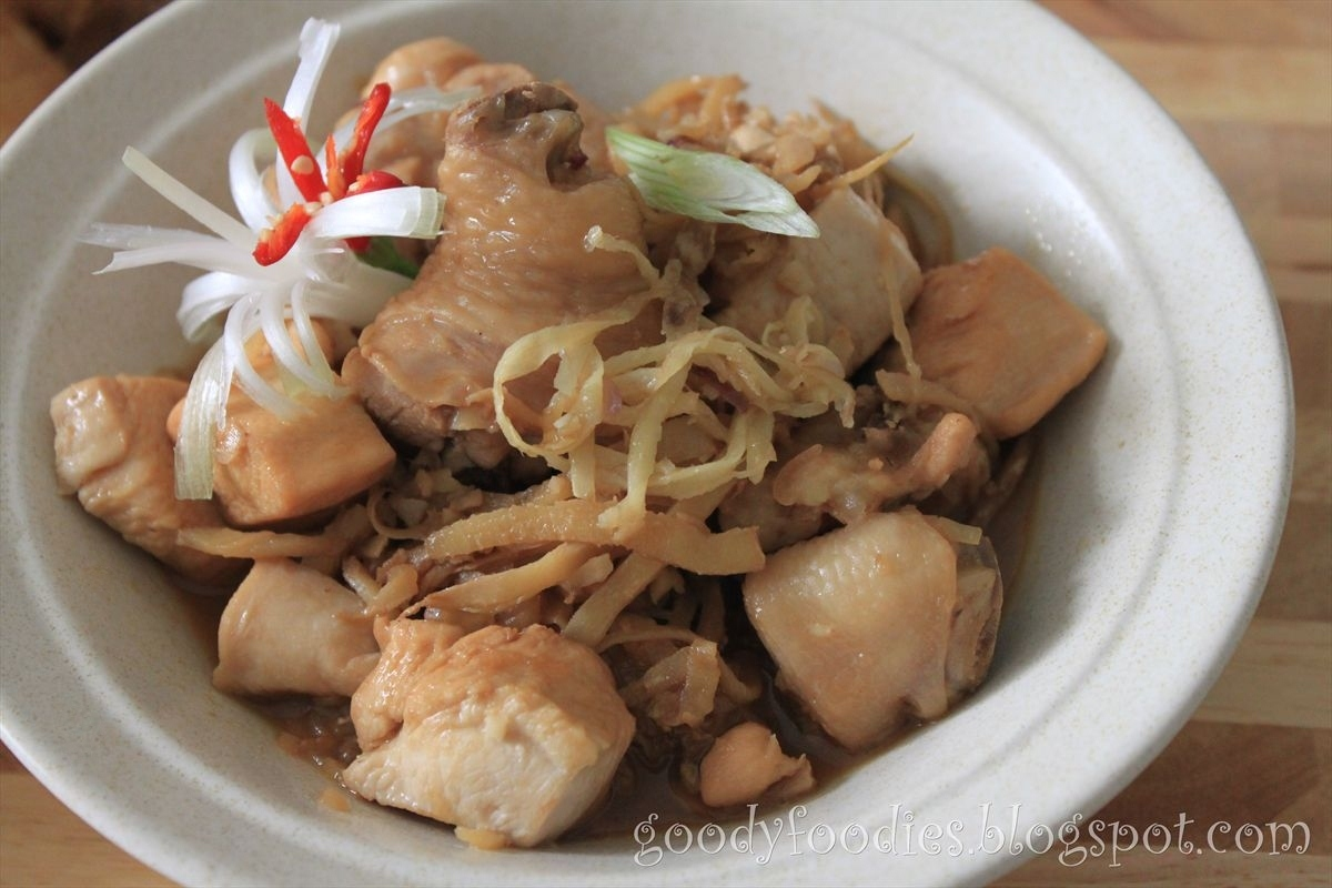Goodyfoodies recipe chicken with chinese rice wine and old ginger goodyfoodies forumfinder Choice Image