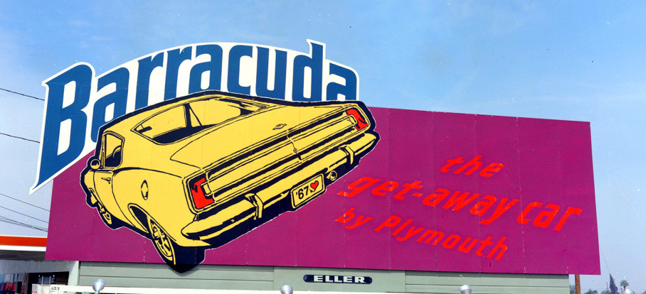 Just A Car Guy: A Barracuda billboard ad I've never seen ...