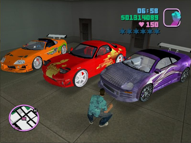 Gta Vice City Stories Hidden Cars