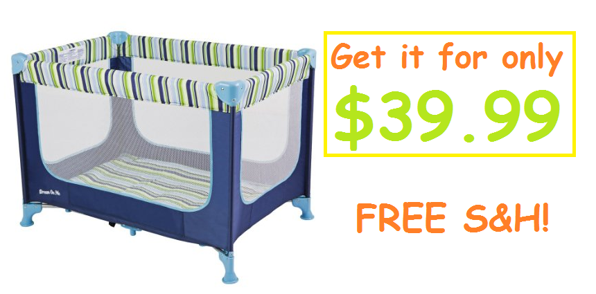 Amazon: Get the Dream On Me Zodiak Portable Playard for $39.99 with FREE S&H!