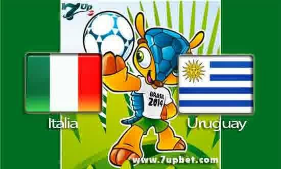 Prediksi Pertandingan Penentu Group D : Italia Melawan Uruguay