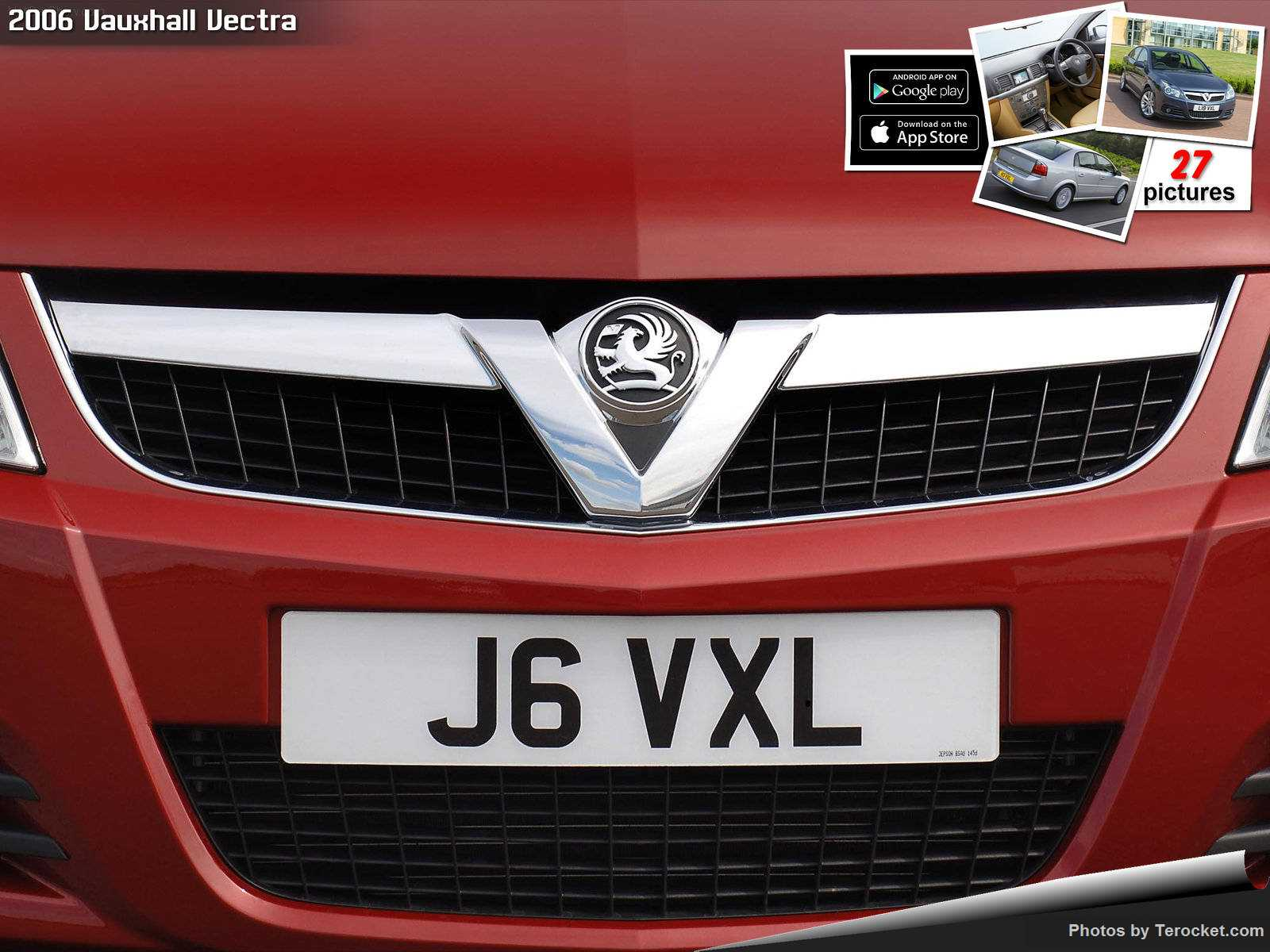 Hình ảnh xe ô tô Vauxhall Vectra 2006 & nội ngoại thất