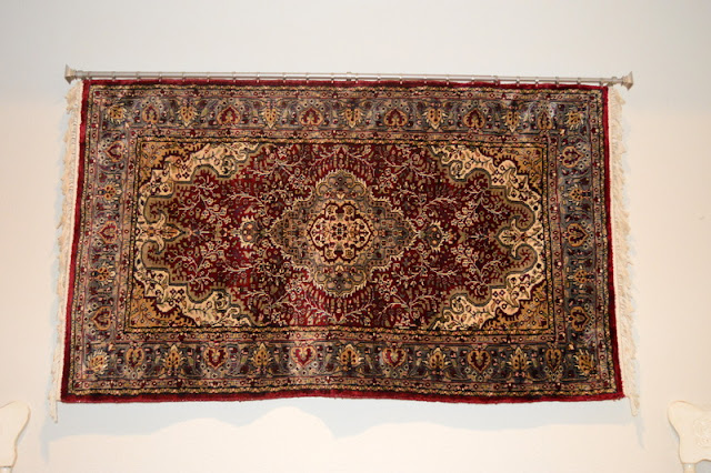 Hanging Indian Silk Rug