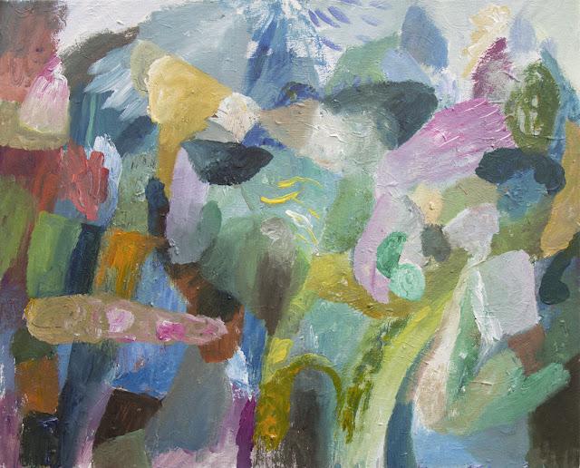 'In the Mountains' - Acrylics on Canvas - 61 x 50 cm - Niklas J Brandow