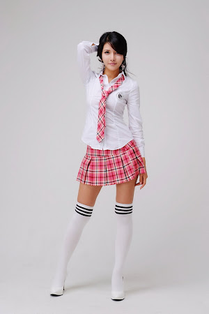 Cha Sun Hwa, Cute School Girl 06