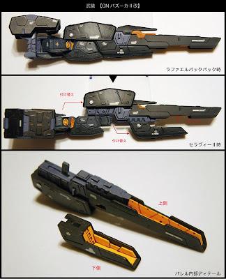 HG 1/144 GN-008RE Seravee Gundam II
