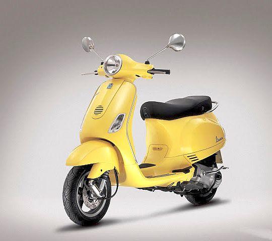 Vespa Moped Models